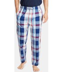 nautica men's cotton plaid pajama pants
