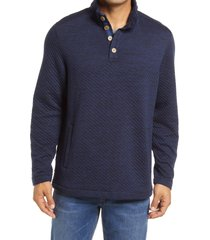 men's tommy bahama quilted crest pullover