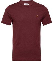 danny short sleeved t-shirt t-shirts short-sleeved röd farah
