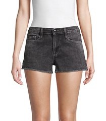 le cut off denim shorts