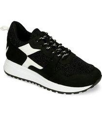 zapatos casuales negro bata igra mujer