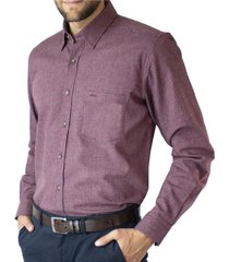 camisa jacquard slim fit mcgregor