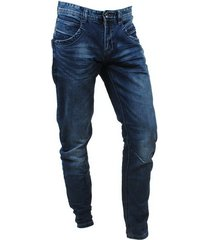 cars heren jeans tapered fit stretch lengte 36 blackstar stone albany wash blauw