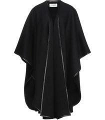 saint laurent capes & ponchos