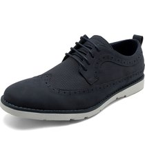 zapato casual azul-blanco us polo assn