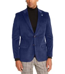 nautica men's modern-fit active stretch corduroy sport coat