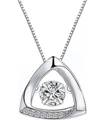 collar pequeño triángulo arany joyas