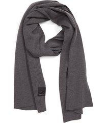 men's canada goose classic wool scarf