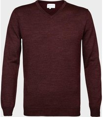 michaelis pullover navy merino wol/acryl