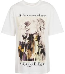 alexander mcqueen logo printed t-shirt