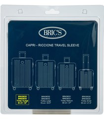 bric's capri transparent 32-inch travel sleeve in clear at nordstrom