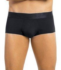 masculino interior boxer corto negro leonisa 033296