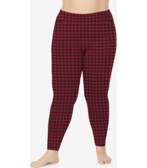 cuddl duds plus size softwear high-waist leggings