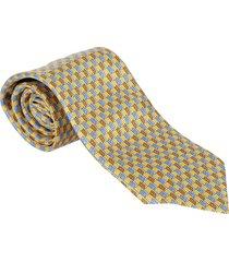 ermenegildo zegna multicolor silk tie