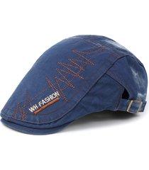 cappello di protezione del cappello del berretto da lavare del denim degli uomini