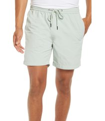 madewell everywear shorts, size x-large in sage mist at nordstrom