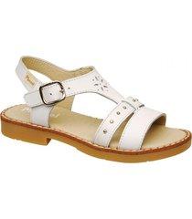sandalia blanca marcel 7995
