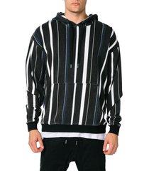 men's zanerobe rugger oversize stripe hoodie, size medium - none