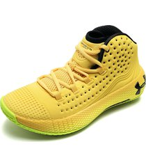 tenis basketball amarillo under armour ua hovr havoc 2