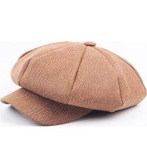 cappello corticale uomo mens cracked modello octagonal cap casual simple painter cappello newsboy berretti caps