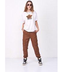 pantalón marrón 47 street daze