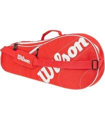 bolso de tenis wilson advantage team triple bag (z609503)