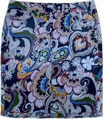 rok met kleurrijke print gs7141 d35