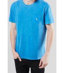 camiseta bolso suspiro pica-pau bordado reserva - masculino