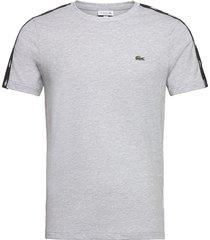men s tee-shirt t-shirts short-sleeved grå lacoste