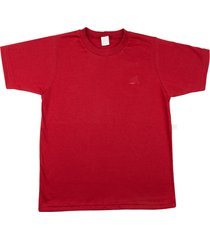 camiseta ano zero meia manga básica vermelho