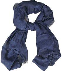 emporio armani printed scarf