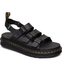 soloman shoes summer shoes sandals svart dr. martens