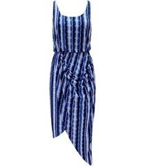 inc striped asymmetrical dress, created for macy's