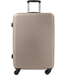 maleta de viaje tipo cabina champagne davos - explora