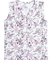 camiseta mujer flores
