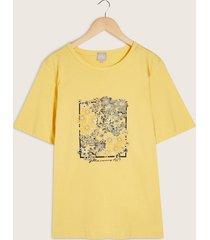 camiseta manga corta estampado screen-14
