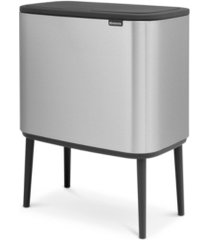 brabantia bo touch top can, 3 + 6 gallon