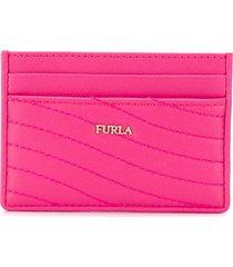 furla card swing wallet - pink