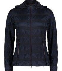 betty barclay - 4321 2600 8538 blauwe gewatteerde jas