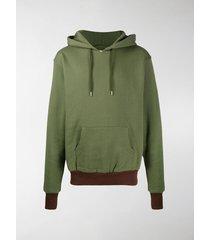 youths in balaclava yoke drawstring hoodie