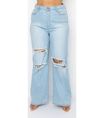 akira plus size almost over high waist relaxed jeans