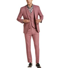 paisley & gray slim fit suit separates jacket raspberry