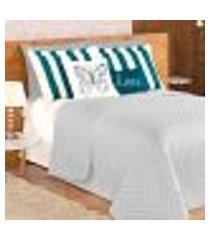 kit cobre leito cinza queen size 9 peças com porta travesseiros e almofadas decorativas para cama