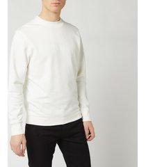 c.p. company men's centre logo crew sweatshirt - gauze white - l