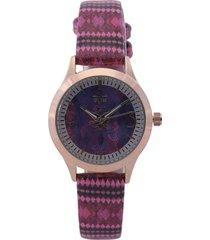 reloj dorado-rosa-multicolor versace 19.69
