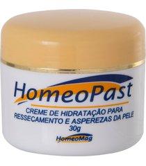 creme homeopast para rachaduras e fissuras da pele e hidratante 30g homeomag
