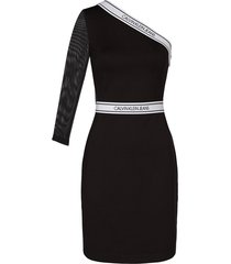 assymetric fitted dress