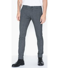 tailored originals pants - nashua frederic byxor dark grey melange