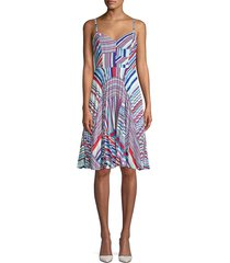 parker women's magna stripe dress - striped - size 0