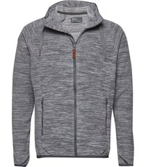 hareid fleece jkt sweat-shirt tröja grå bergans